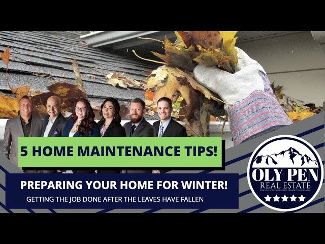 5 Fall Home Maintenance Tips!