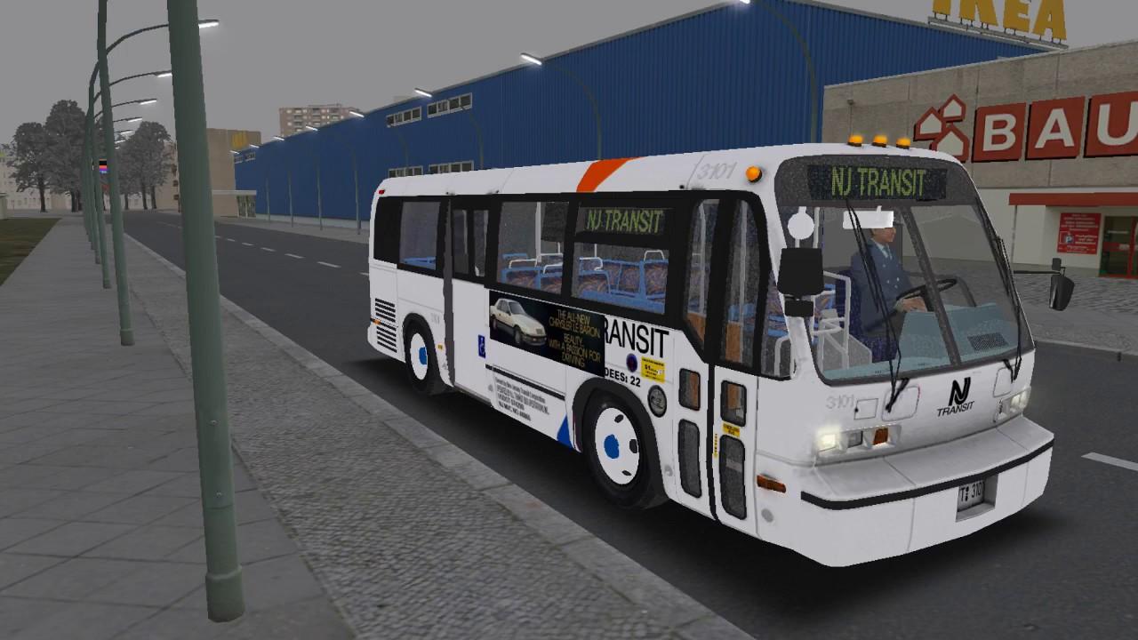 omsi 2 novabus 35ft rts nj transit bus on the 87 in grundelphia youtube. Black Bedroom Furniture Sets. Home Design Ideas