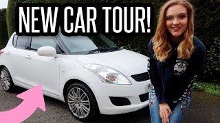 MY NEW CAR TOUR!! White Suzuki Swift | BeautySpectrum Video