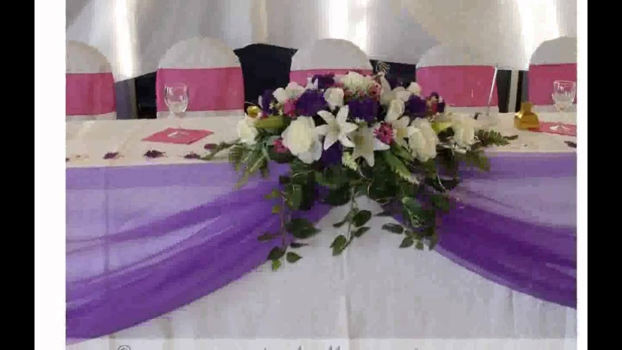 Wedding decoration ideas for tables youtube junglespirit Images