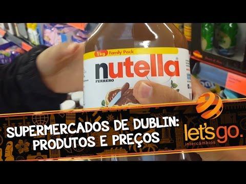Supermercados de Dublin: Produtos e Preços