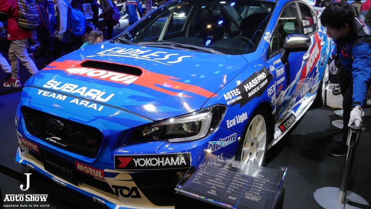 hd subaru wrx sti wrc 2016 tokyo auto salon 2017 youtube. Black Bedroom Furniture Sets. Home Design Ideas