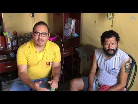 HOMEM COM DIABETES PRECISA DE AJUDA EM PEDRAS DE FOGO