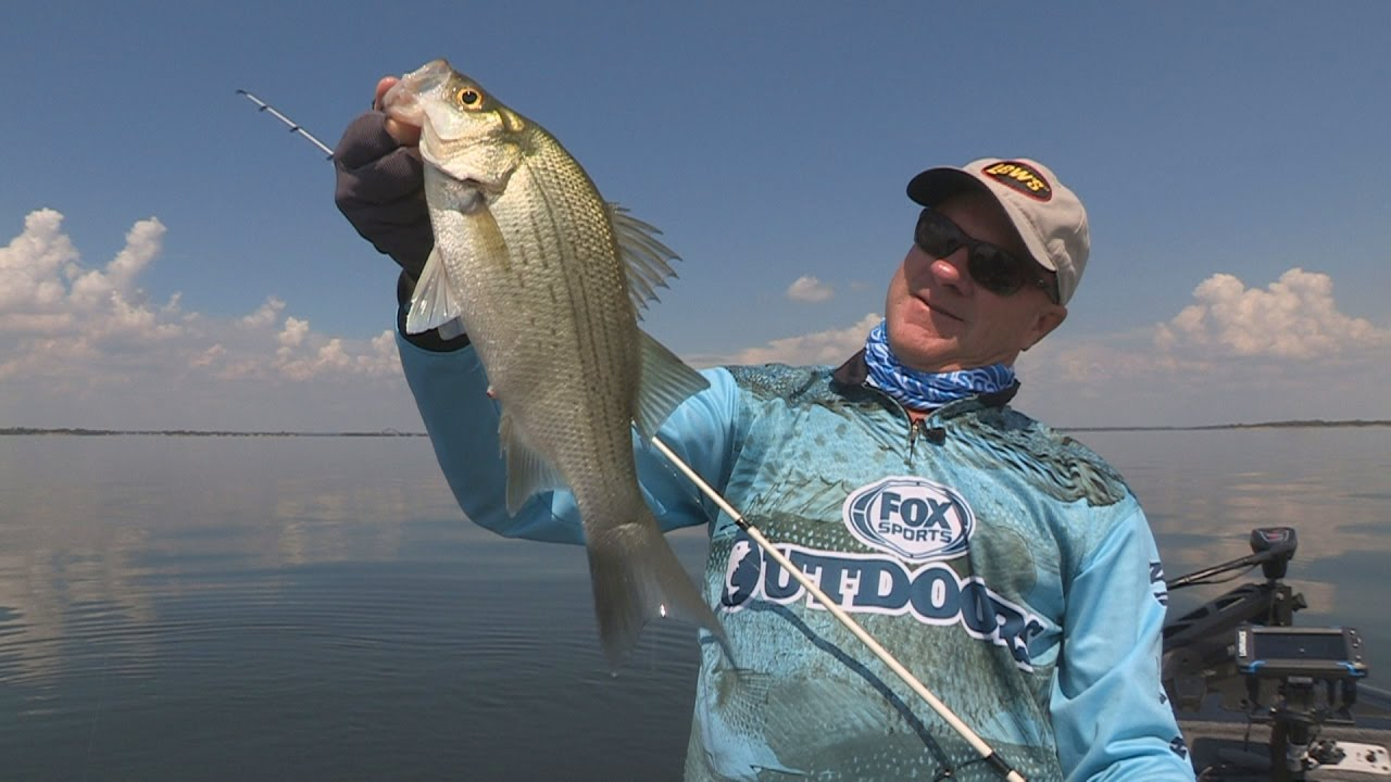 Fox sports outdoors southwest 30 2016 fall white bass for Lake lewisville fishing