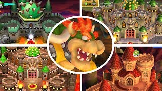 Evolution of Final Castles in New Super Mario Bros (2006-2017)
