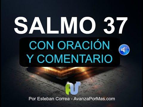 SALMO 37 Biblia Hablada Con Explicación y Oración Reina Valera Contemporánea Libro Salmos