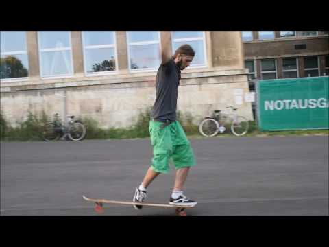 Longboard Freestyle und Dancing am IG Farben Campus Frankfurt