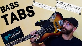 The Clash - Rock the Casbah BASS COVER + PLAY ALONG TAB + SCORE