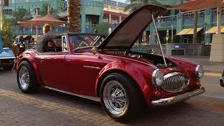 Austin Healey 3000 Roadster at Westgate's Hot Rod Nights