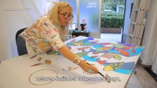 Botika Batik. Taller de Pintura sobre seda y fieltro.