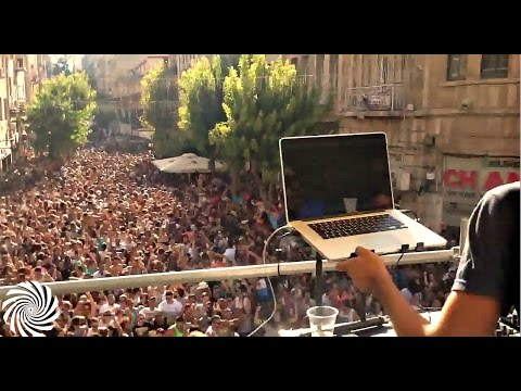Upgrade @ Street party in Jerusalem, Israel