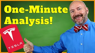 Tesla Stock Analysis in One Minute #Shorts