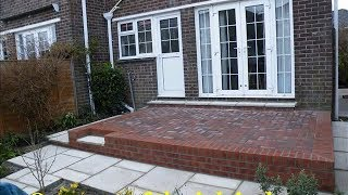 How To Build A Raisd Patio Area