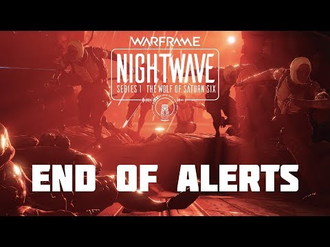 Warframe: The Wolf of Saturn Six - Nightwave - The End of Alerts thumbnail
