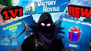 NOUVEAU GIFTING SYSTEM UPDATE TONIGHT 1V1 WITH SUBSCRIBERS PLAYGROUND FORTNITE BATTLE ROYALE