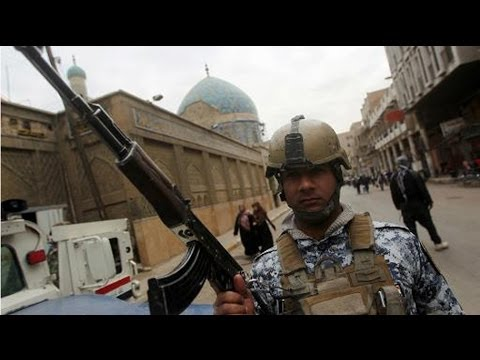 Iraqi security forces regained control of city council building in Tikrit