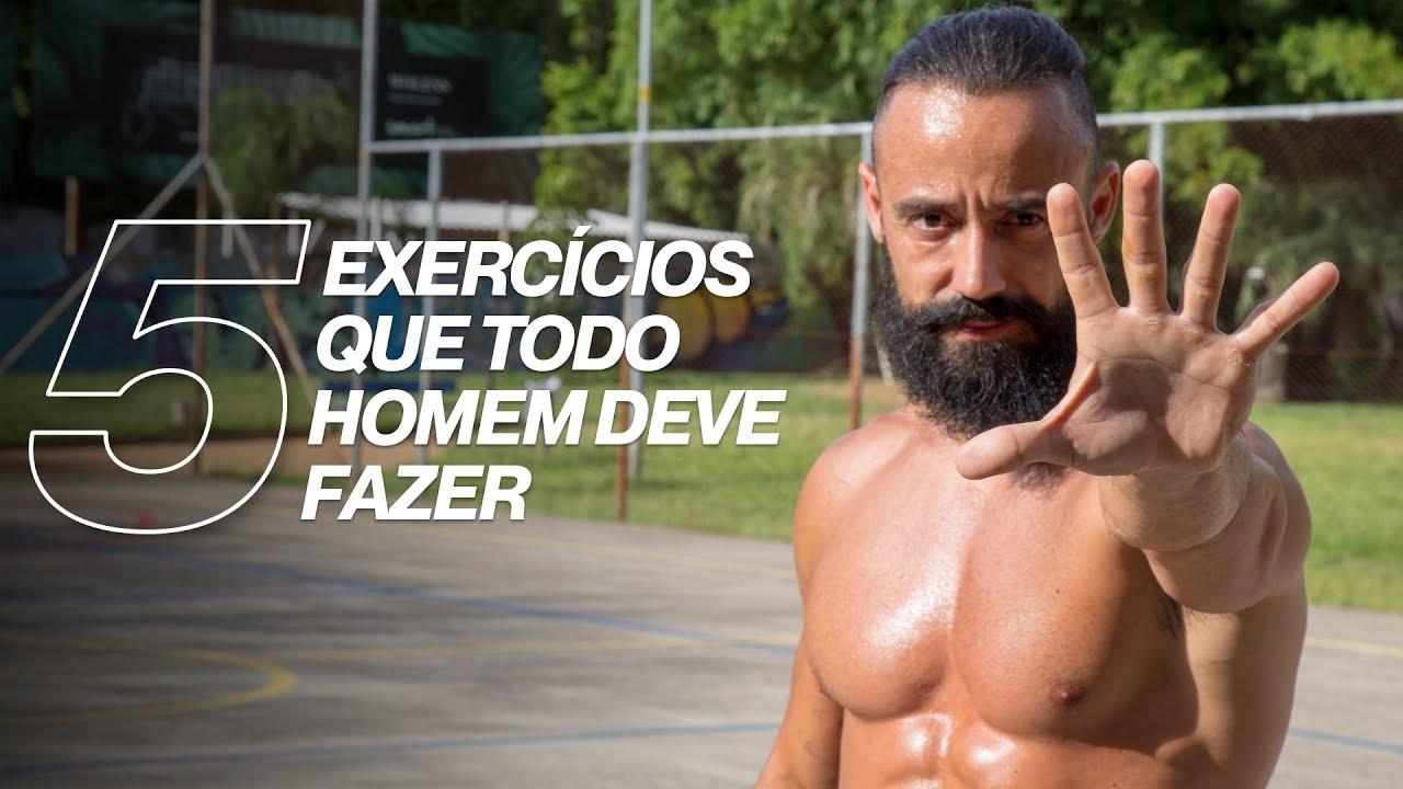 5 EXERCÍCIOS QUE TODO HOMEM DEVE FAZER | XTREME 21