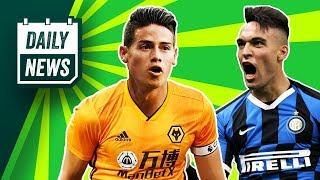 Neymar or Martinez for Barcelona! + Real Madrid reject to Wolves? ► Daily News