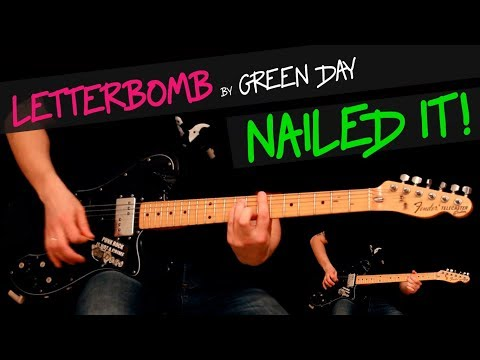 Letterbomb - Green Day Guitar Cover By GV + Chords