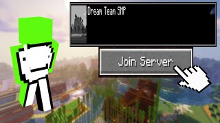 How To Join Tнe DREAM TEAM SMP Server