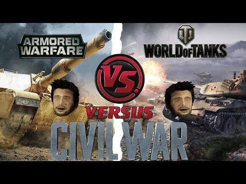 Сравнение: графика Armored Warfare 0.20.5 VS World of Tanks 9.19 (устаревшее)