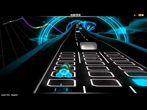 On Audiosurf : Aphex Twin : Equation