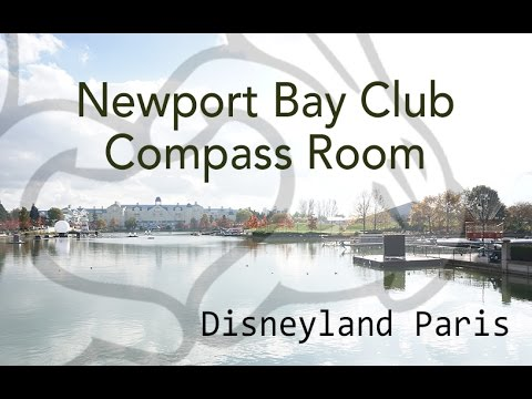 disneyland paris newport bay club compass room breakfast and lounge youtube. Black Bedroom Furniture Sets. Home Design Ideas