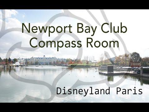 disneyland paris newport bay club compass room breakfast and lounge youtube. Black Bedroom Furniture Sets. Home Design Ideas