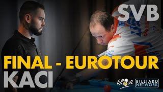 Shane VANBOENING vs Eklent KACI | FINAL - EUROTOUR | Dramatic and Historic - Commentary by Alex Lely