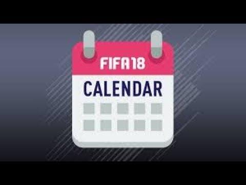 FIFA 18 KALENDARZ | KIEDY KOLEJNE EVENTY !!!