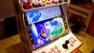 MAME Bartop Arcade Machine Cabinet