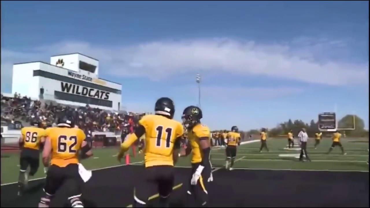 bb2b400aafc Nate Rogers WR #11 Wayne State College- 2019 Draft Prospect - YouTube