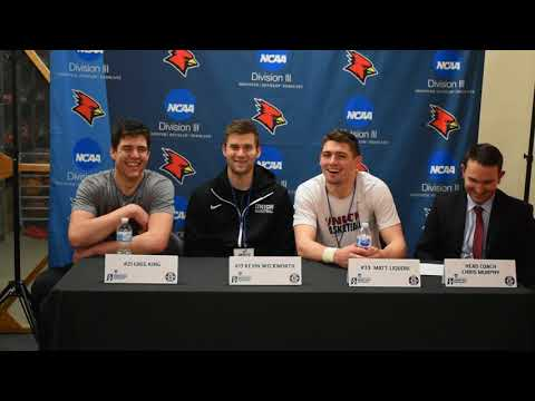 2018 NCAA Division III Men's Basketball Championship First Round - Union Press Conference