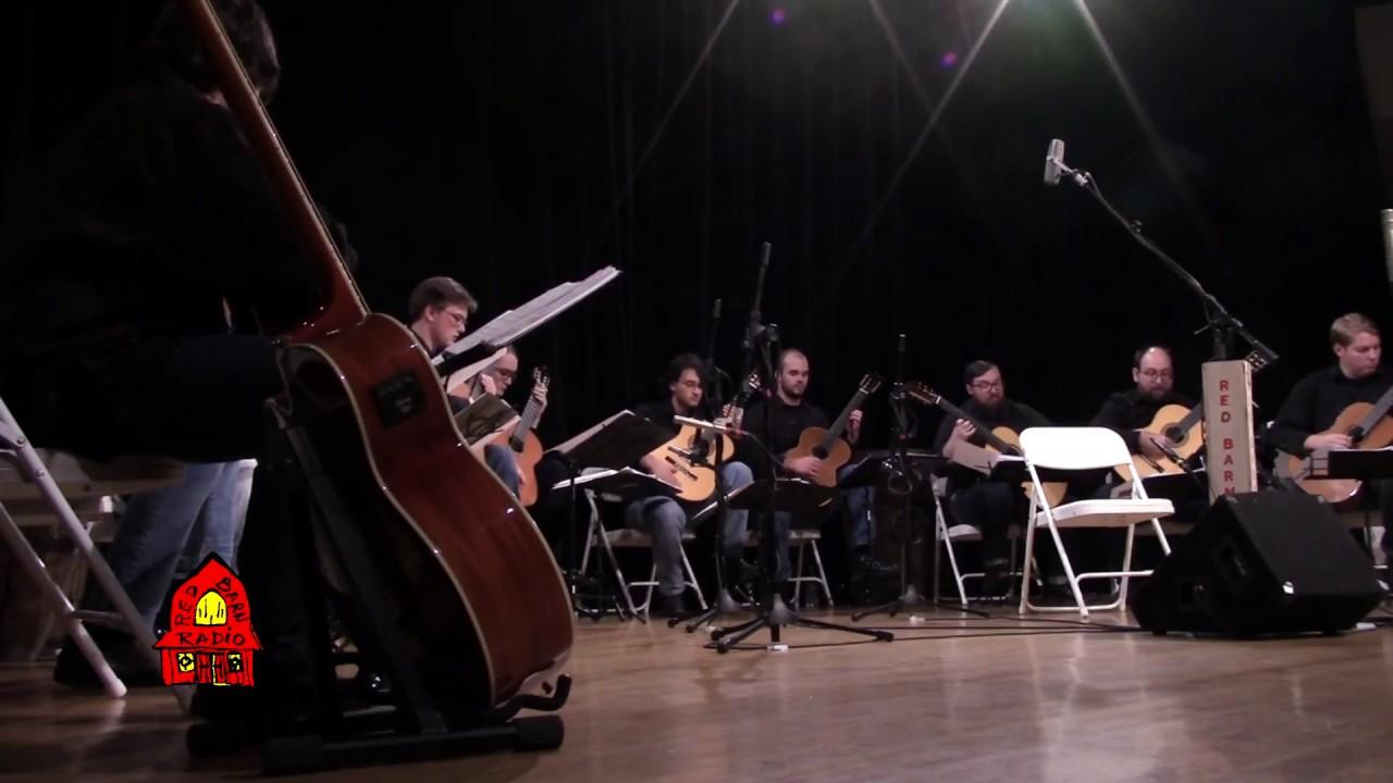 EKU Guitar Ensemble - Cantiga, From Four Brazilian Dances by Celso Machado