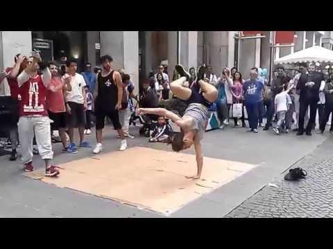 Street dance  Milano/ Ballare sulla strada in Milano