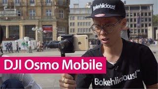 DJI Osmo Mobile Hands-on Review (feat. Feiyu SPG Live)