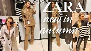 NEW IN ZARA | COME SHOPPING WITH ME | AUTUMN FALL HAUL