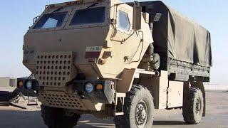 Сравниваем главные военные грузовики России и США (КамАЗ/УРАЛ)