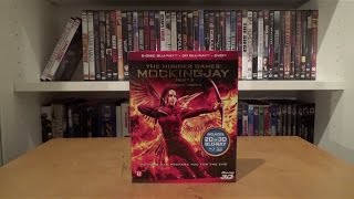 The Hunger Games: Mockingjay Part 2 Blu-ray 3D + 2-Disc Blu-ray + DVD Combopack Unboxing