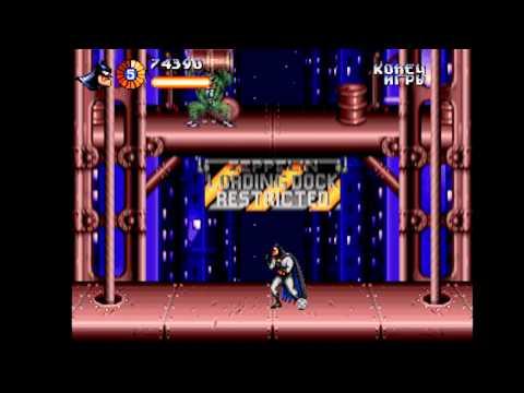 The Adventures of Batman and Robin Прохождение (Sega Rus) - Начало