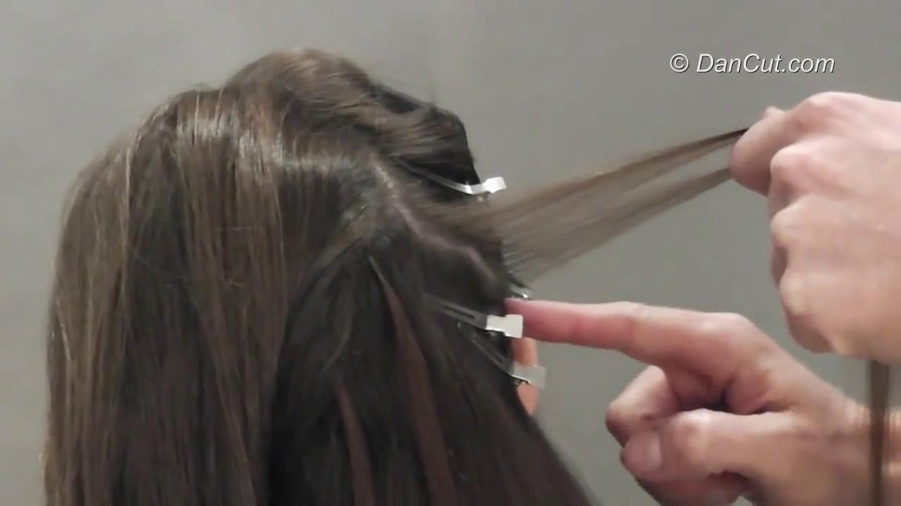 איך לחבר תוספות שיער בהלחמה