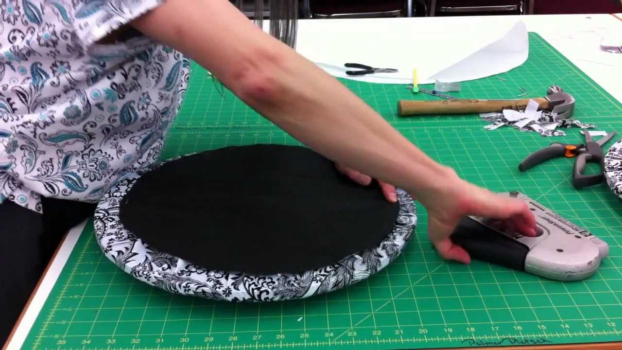 Make the Outdoor Seat CushionMake the Outdoor Seat Cushion   YouTube. Recover A Round Chair Seat. Home Design Ideas