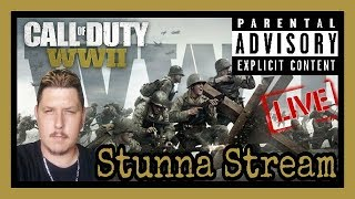 Call Of Duty WWII! Late Night Chillin Stream On Call Of Duty WW2! ( Short Cod WWII Live Stream )