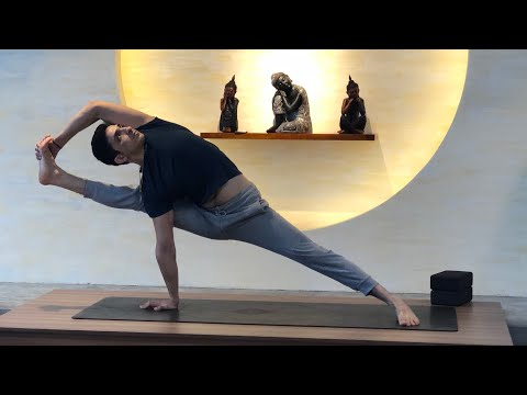 50 Minutes Hip opening workout and yoga with Master Ajay in Jai yoga
