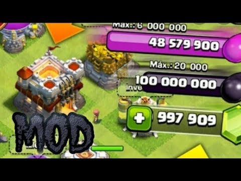 PRIVATE SERVER For CLASH OF CLANS (MOD) Gems & Money Ilimited
