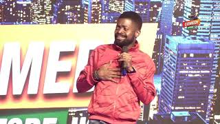 Alex Muhangi Comedy Store Sept 2019 - Basketmouth in Uganda