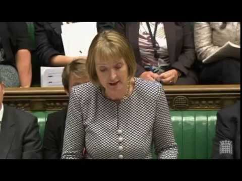 Harriet Harman's Reaction to Cameron on the refugee crisis