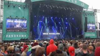Wiz Khalifa Intro Most Of Us  Live Bråvalla Festival Norrköping Sweden 2/7 2016