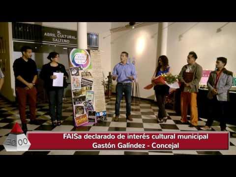 FAISa 2016 Declarado de interés cultural municipal - Salta Argentina