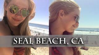 VLOG ! Калифорния : гуляем по пляжу Seal Beach/ Жизнь в Лос Анджелес